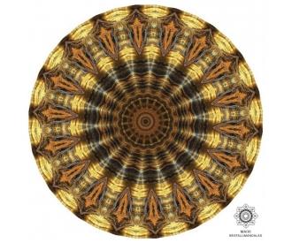 Tiigrisilm kristallimandala
