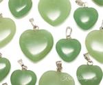 Roheline aventuriin ripats süda
