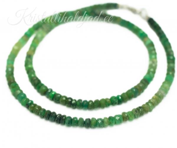 smaragd kaelakee