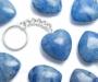 Sinine kvarts võtmehoidja süda