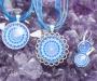 Safiir kristallimandala ehted