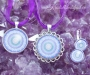 Fluoriit kristallimandala ehted