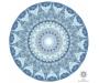 Sinine kaltsiit kristallimandala