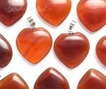 Karneool ripats süda