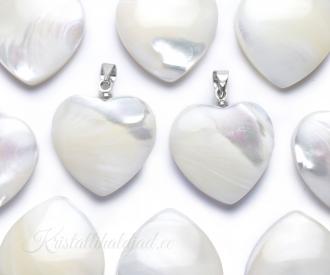 Pärlikarp ripats süda