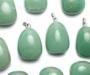 Aventuriin roheline ripats tilk kinnitusega