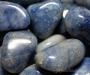 Sinine kvarts lihvitud