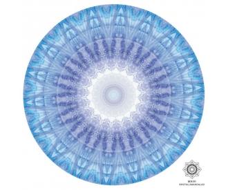 Kuukivi kristallimandala