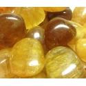 Fluoriit kollane lihvitud