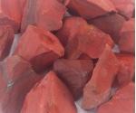 Punane jaspis toorkivi