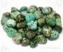 Türkiis lihvitud kivi