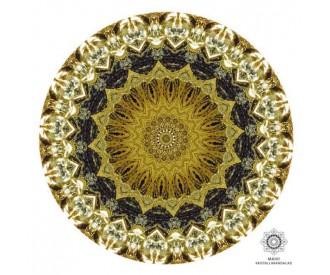 Püriit kristallimandala 1