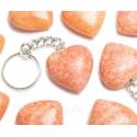 Kaltsiit roosa võtmehoidja süda