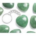 Aventuriin roheline võtmehoidja süda