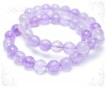 Lavendel kvarts käevõru fassetitud kividega