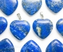 Lapis lazuli ehk lasuriit ripats süda