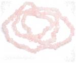 Roosa kvarts kaelakee tšipsidest