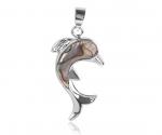 Paua merekarp ripats delfiin