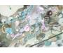 Sinine topaas hõbekõrvarõngad Sri Lankalt