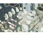 Sinine vikerkaare kuukivi hõbesõrmus Tilk 2 Sri Lankalt