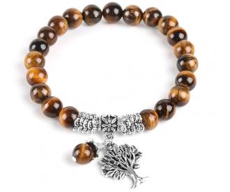Tiigrisilm käevõru elupuu kaunistusega