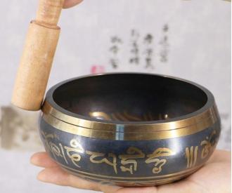 Tiibeti helikauss mustriga