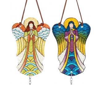 Tuulekell ingel vitraažil
