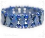Lapis lazuli ehk lasuriit käevõru Hera