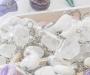 Mäekristall võtmehoidja lihvitud kivi