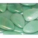 Aventuriin roheline lapik kivi