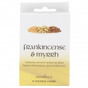 Mürr ja Viirukipuu Frankincense koonusviirukid