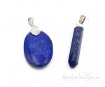 Lapis lazuli ehk lasuriit hõberipats lihvitud 2