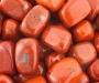 Punane jaspis lihvitud