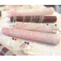 Leiunurk: Roosa kvarts massaažisau ümar, defektiga