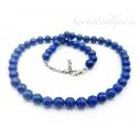 Lapis lazuli ehk lasuriit kaelakee hõbekinnitusega