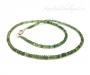 Küaniit roheline kaelakee hõbekinnitusega 2