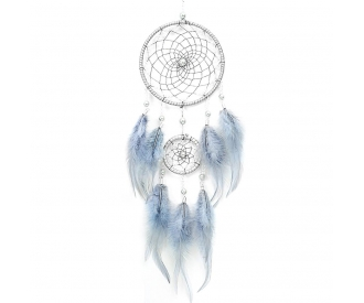 Unenäopüüdja helmeste ja inglisulgedega