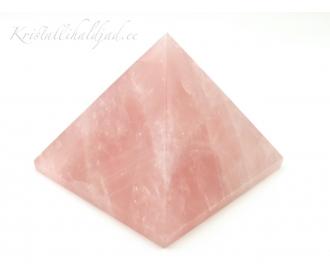 Roosa kvarts püramiid suur