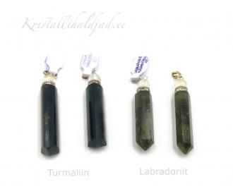 Leiunurk: Erinevad kristallid tipuga ripatsid defektiga