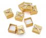 Kinkekarp kuldne ja hõbedane