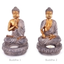 Buddha kuju küünlaalusega, erinevad