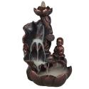 Viirukialus Buddha kosel, backflow koonusviirukile