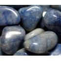 Leiunurk: Sinine kvarts lihvitud, defektiga