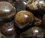 Leiunurk: Bronsiit lihvitud, defektiga