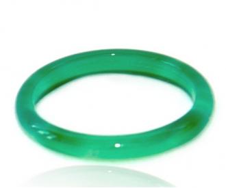 Ahhaat sõrmus roheline