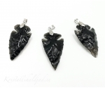 Obsidiaan ripats nool